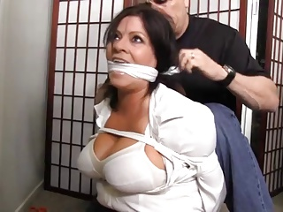 My Husband Cant Find Me Tied Up And Gagged Like This