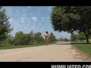 Hot Latina Mom Jogging Runs Into Trouble!