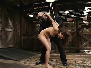 Asian Girl Used In Bondage