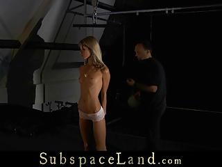 Skinny Slave Girl Painful Disciplined
