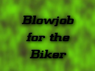 Verbal Biker Talk To BF While Get Anon Head