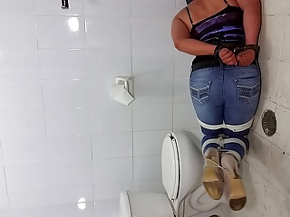 Jeans And Heels Tied