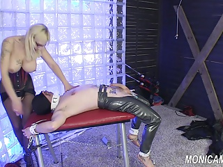 MonicaMilf Femdom – Blue Balls And Some Hard Pegging