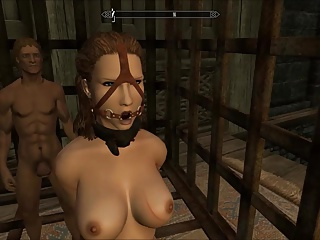 Perils Of Escaped Skyrim Slavegirl 10