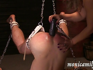 In MonicaMilf S Femdom Dungeon – Used In 30 Min