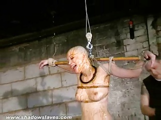 Bizarre Asian Humiliation Of Kumimonster In Dungeon Bondage