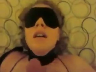 Blindfolded Sub Fucked