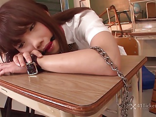 Ageha Kinoshita's School Punishment (Uncensored JAV)