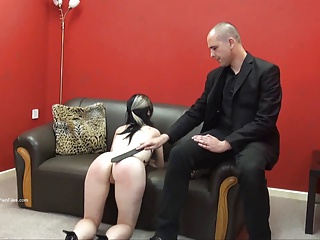 Faes Bare Ass Spanking And Corporal Punishment Of Striped