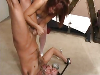 Cum Milked In Own Mouth Femdom
