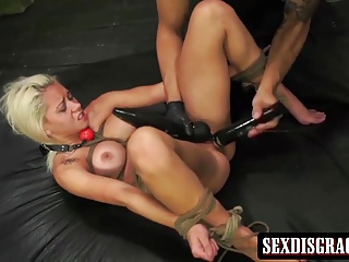 Attractive Blonde Gets Rougly Used