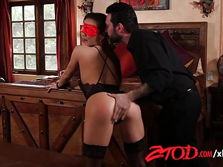 ZTOD – Sexy Kalina Ryu Tied Up