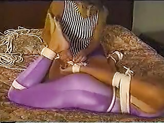 Selfbondage With A Litle Help