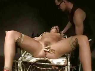 Slavegirl Gets Painfully Punished And Fucked