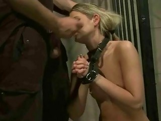 Cute Girl Gets Punished And Fucked In Prison