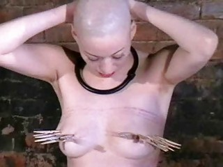 Caged Asian Slavegirl Kumimonsters Tit Torture