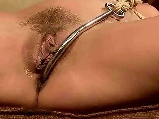 Blonde Gets Bondaged And Anal Fucked