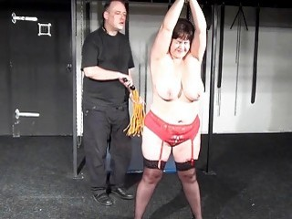 Busty Bbw Andreas Hardcore Breast Whipping And Ext