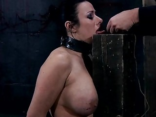 Gagged And Bounded Playgirl Needs Pussy Pleasuring