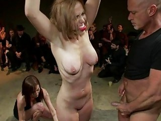 Hawt Siren Gets A Excruciating Group Punishment