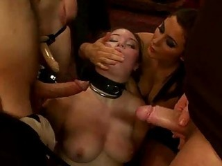 Deep And Merciless Vagina Thrashing For A Whore