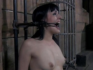 Breasty Beauty Loves Getting Pussy Torture