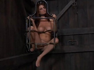 Slave Gets Her Beaver Punished From Lusty Domina