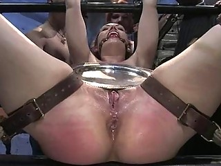 Sexy Siren Gets A Excruciating Group Torment