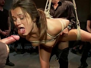 Sexy Siren Gets A Excruciating Group Punishment
