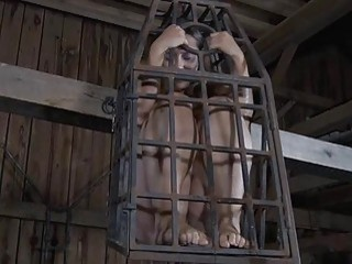 Bounded Slave Beauty Is Getting A Pussy Punishment
