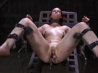 Tormented Serf Is Giving Slavemaster A Blowjob