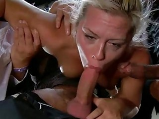 Gagged And Bounded Hotty Gets A Public Humiliation
