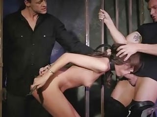 Sophie Lynx Gets Fucked Rough In Prison
