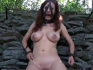 Tied Up Cutie Waits With Fear For Her Next Torture