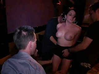 Submissive Slave Surrenders Her Twat In Public