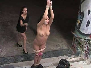 Stunning Doxy Is Humiliated Sexually In Public
