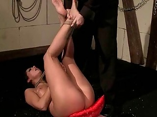 Hot Slavegirl Getting Humiliated And Fucked