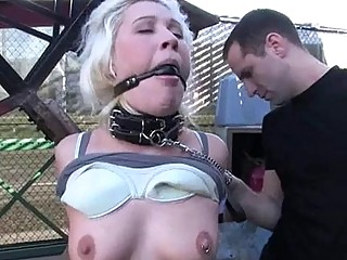 Whore Needs A Rough Torment For Her Shameless Twat