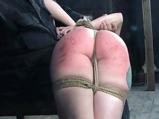 Restrained Girl Is Hoisted Up For Her Sexy Torment