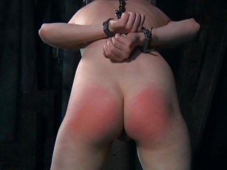 Clamped Up Hotty Acquires Her Fuck Holes Tortured