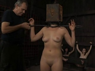Gagged Cutie With Clamped Teats Gets Wild Pleasure