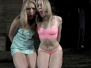 Bounded Angel Is Leaking Wet From Her Hawt Torture