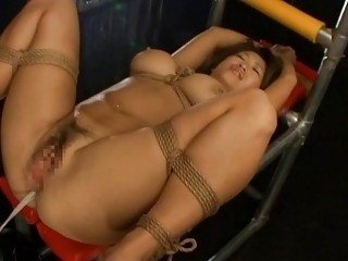 Delightful Angel Is Servicing Two Shafts Zealously