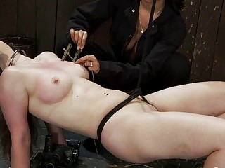 Isis Love Charlotte Vale And Maggie Mayhem Bondage Session