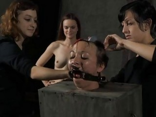 Darling Receives Her Smooth Wazoo Whipped Brutally
