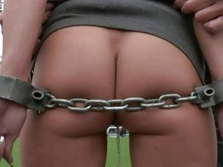 Explicit Vagina Castigation For An Sex Slave