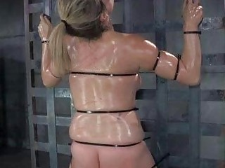 Restrained Teen Brutally Whipped!