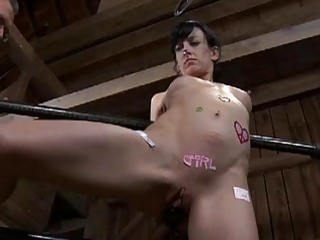 Pretty Babes Lovely Teats Gets Painful Torturing