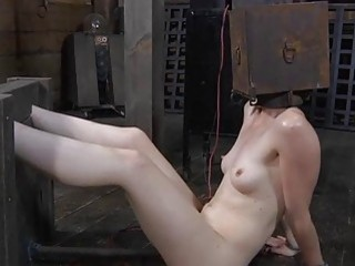 Worthless Whore Is Made To Pleasure Her Horny Twat