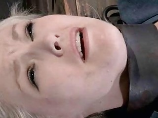 Bound Teen Mouth Stuffed With Her Tampon!